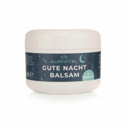 ALMIVITAL Gute Nacht Balsam mit Melatonin, Baldrian & Eukalyptusöl 100ml