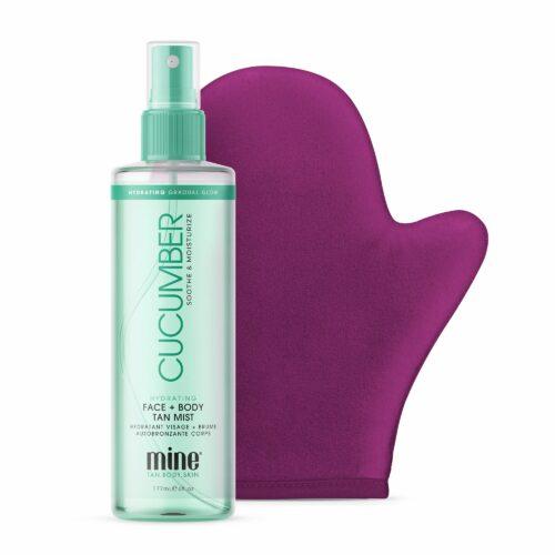 MINETAN™ Gurke Selbstbräunungsspray für Gesicht & Körper 200ml mit Applikator