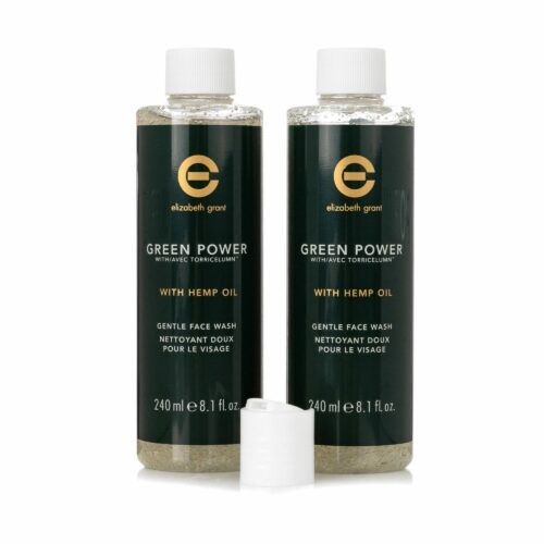 ELIZABETH GRANT Green Power & Hemp Oil Gesichtsreiniger 2x 240ml