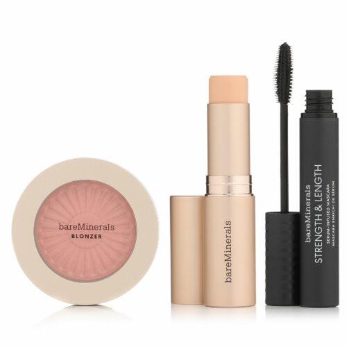 bareMinerals® Make-up-Set Complexion Rescue Foundation Stick Blonzer & Mascara
