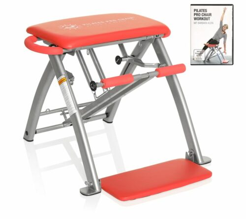 B-Ware PILATES PRO CHAIR™ Pilates Stuhl mit einstellbarem Widerstand & DVD