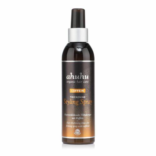 ahuhu organic hair care Coffein Thickening Styling Spray 200ml