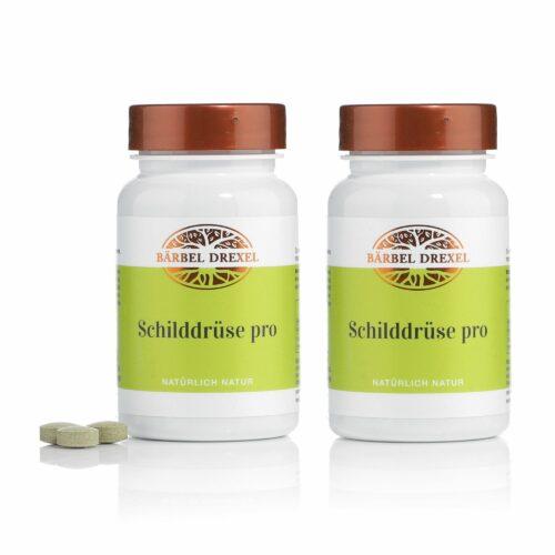 BÄRBEL DREXEL Schilddrüsen Pro mit Selen und Vitamin D 2x 125 Stück