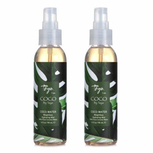 TAYA HAIRCARE Coco Water leichtes Feuchtigkeit Spray fürs Haar 2x 118ml