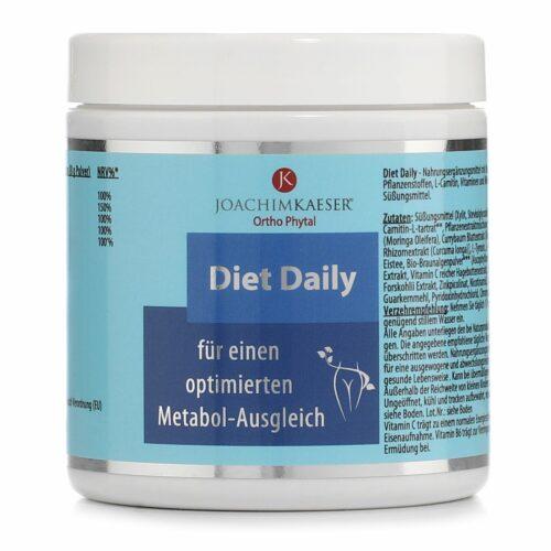 JOACHIM KAESER Diet Daily Trinkpulver für einen optimierten Metabol- Ausgleich 172g