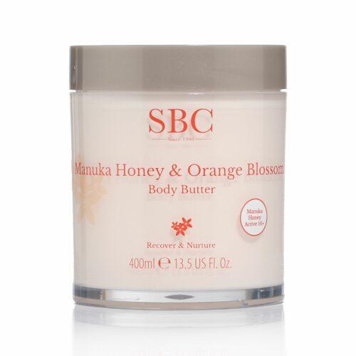 SBC Manuka Honig & Orangenblüten Körperbutter 400ml