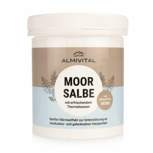 ALMIVITAL Moorsalbe mit MSM & Thermalwasser, sanft wärmend 500ml