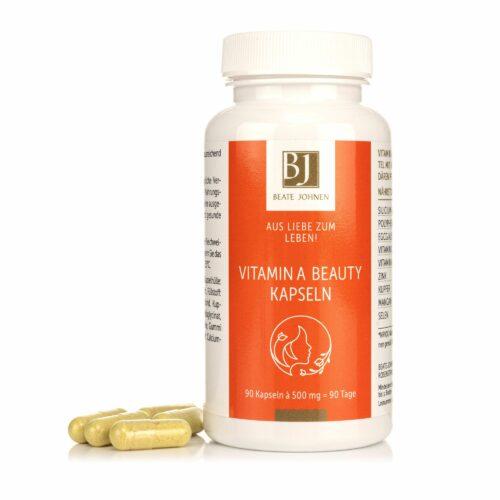 BEATE JOHNEN Aus Liebe zum Leben Vitamin A Kapseln 90 Kapseln für 3 Monate