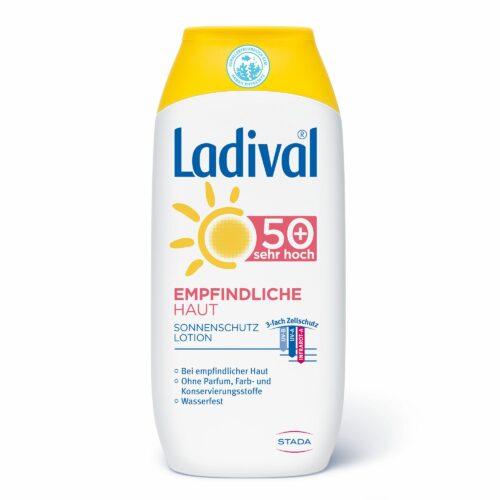 LADIVAL® Sonnenschutz Lotion Körper LSF 50+ Für empfindliche Haut 200ml