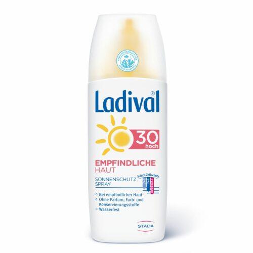LADIVAL® Sonnenschutz Spray Körper LSF 30 für empfindliche Haut 150ml