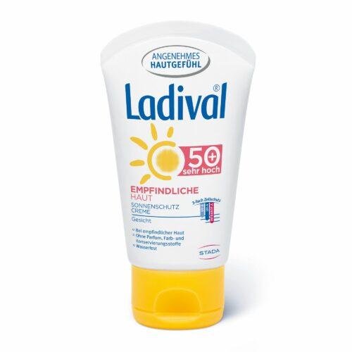 LADIVAL® Sonnencreme Gesicht LSF 50+ Für empfindliche Haut 50ml