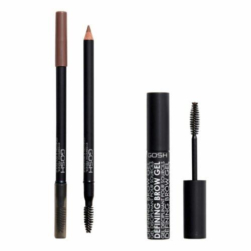 GOSH COPENHAGEN Augenbrauen-Duo Eyebrow Pencil 1,2g Defining Brow Gel 8ml