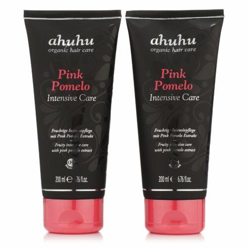 ahuhu organic hair care Pink Pomelo Intensive Care 2x 200ml
