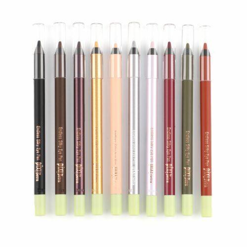 PIXI BEAUTY Eyeliner-Set Endless Silky Eyeliner 10x 1,2g