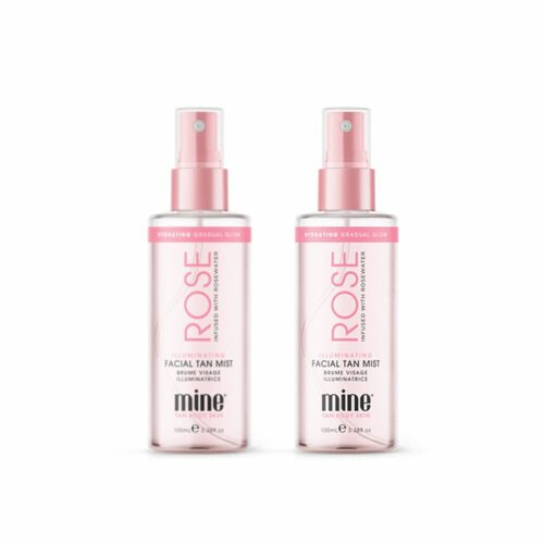 MINETAN™ Rose selbstbräunendes Gesichtswasser 2x 100ml