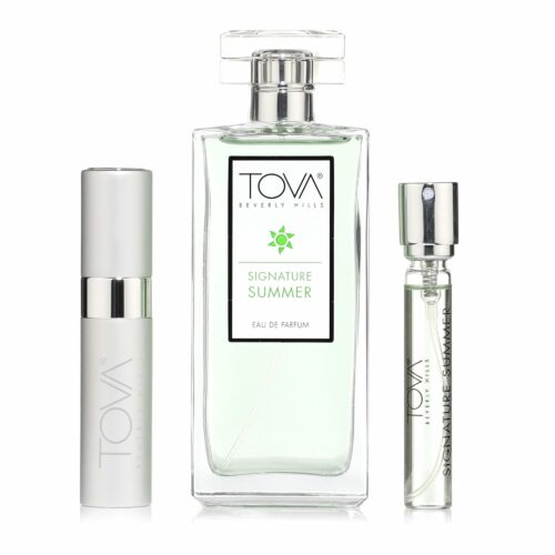 TOVA Parfum-Set Signature Summer Eau de Parfum 100ml Purse Spray 2x 10ml