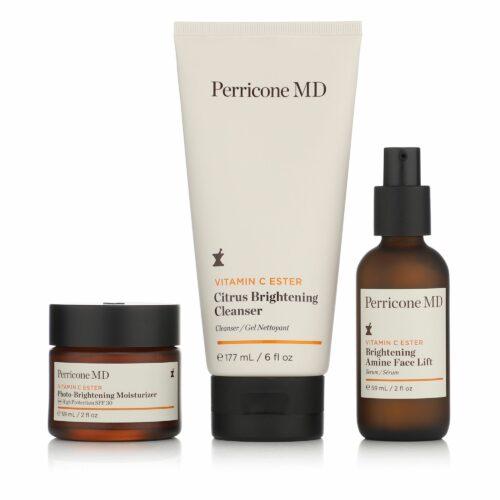 DR. PERRICONE Vitamin C Trio Amine Face Lift, Moisturizer je 59 ml & Cleanser 177ml