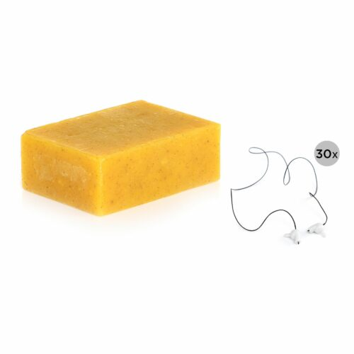 COLIBRY 30 Ersatzfäden für Faden-Epilierer inklusive Organic Peelingseife