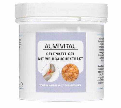 ALMIVITAL Gelenkfit-Gel mit Weihrauch für die Gelenke 250ml
